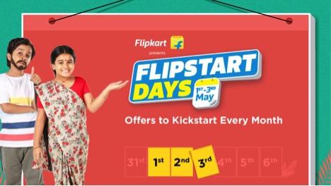 Flipkart Flipstart Days Sale Begins June 1: Offers on Laptops, Headphones, Mobile Accessories