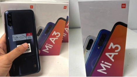 Mi A3 Launch Set for July 17, Live Images of the Phone Leaked