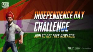 PUBG MOBILE INDEPENDENCE DAY CHALLENGE CAN WIN YOU CRATE COUPONS, HEADGEARS, PARACHUTES