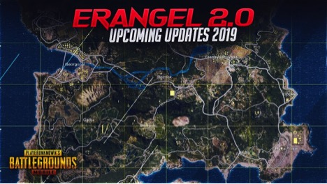 PUBG MOBILE UPDATE 0.14.5 MAY BRING NEW ERANGEL 2.0 MAP