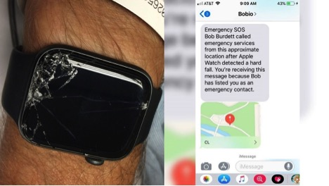 Man Credits Apple Watch for Saving His Father's Life