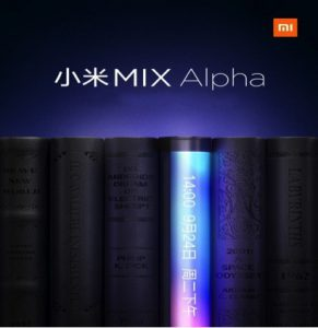 Xiaomi Mi Mix Alpha With Curved Display Tease