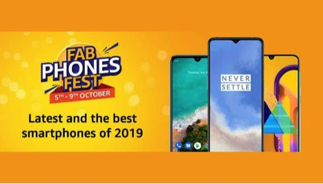 Amazon Fab Phones Fest- Here are some top deals on OnePlus 7, Samsung Galaxy M30, Galaxy A10s and more