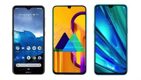Nokia 6.2 vs Samsung Galaxy M30s vs Realme 5 Pro- Price in India, specifications