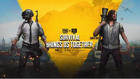 PUBG Mobile brings The Walking Dead characters to the game