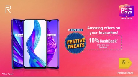 Realme Festive Days Sale Is Back With Discounts on Realme 5, Realme 5 Pro