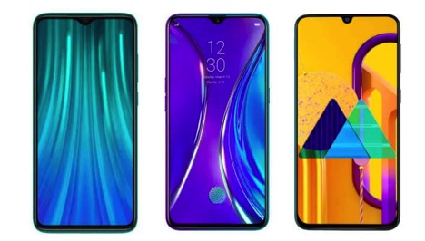 Redmi Note 8 Pro vs Realme XT vs Samsung Galaxy M30s- Price in India, specifications and features comparasion