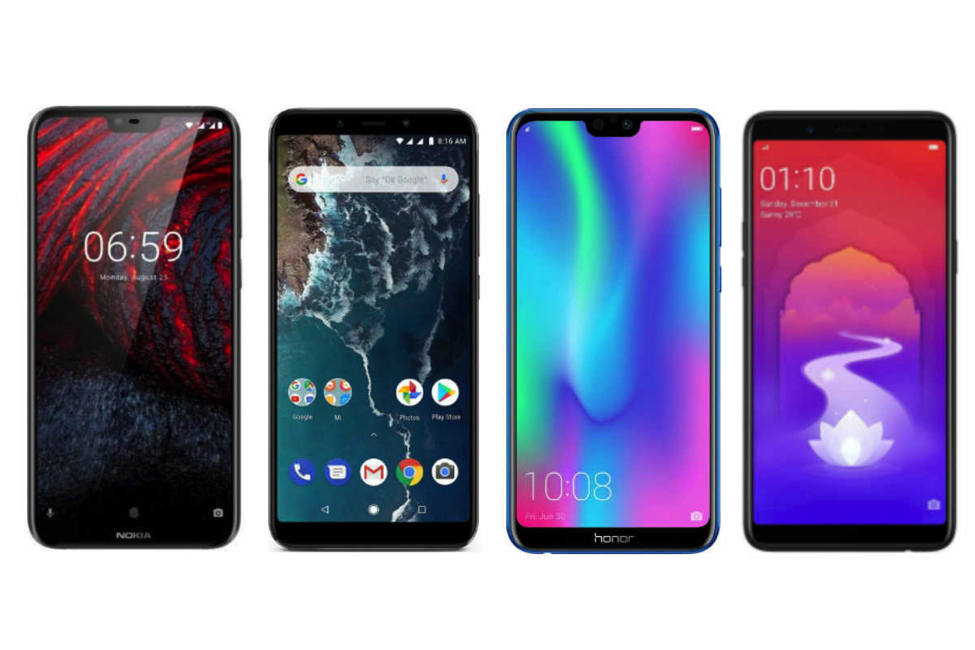 Top 10 smartphone deals on Flipkart and Amazon India