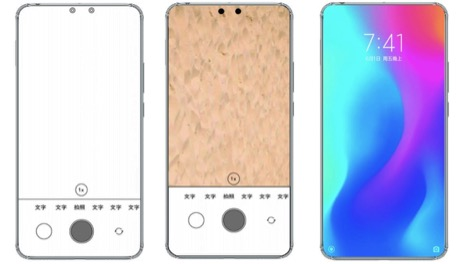 Xiaomi Patent Application Reveals Phone With Dual Under-Display Selfie Cameras