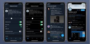 How to enable dark mode for Twitter