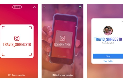 How to use Instagram Nametag feature