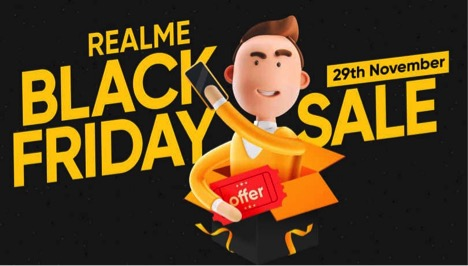 Realme Black Friday Sale deals revealed