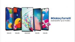 Samsung 10th anniversary sale now live- Discounts on Galaxy Note 10, S10, A70s and more