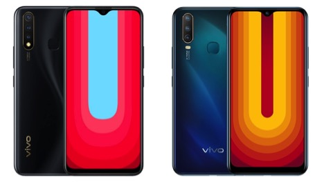 Vivo U20 vs Vivo U10- Price in India, Specifications Compared