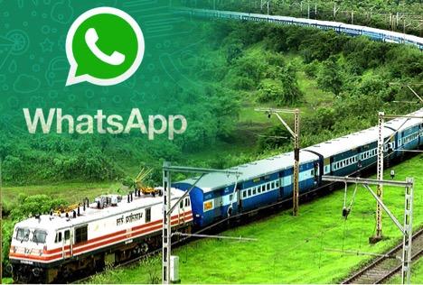 How to check IRCTC Train status on WhatsApp