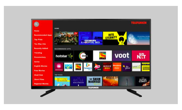 Telefunken 40-inch Full HD Smart TV launched as heat, humidity resistant TV in India