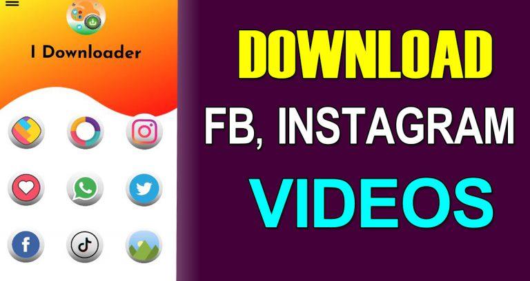 Download instgram,facebook videos