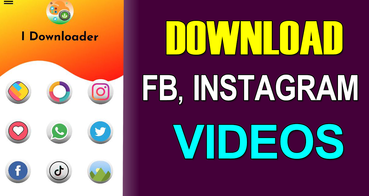 Download instgram,facebook videos